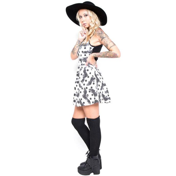 šaty dámské IRON FIST - Nocturnal - White