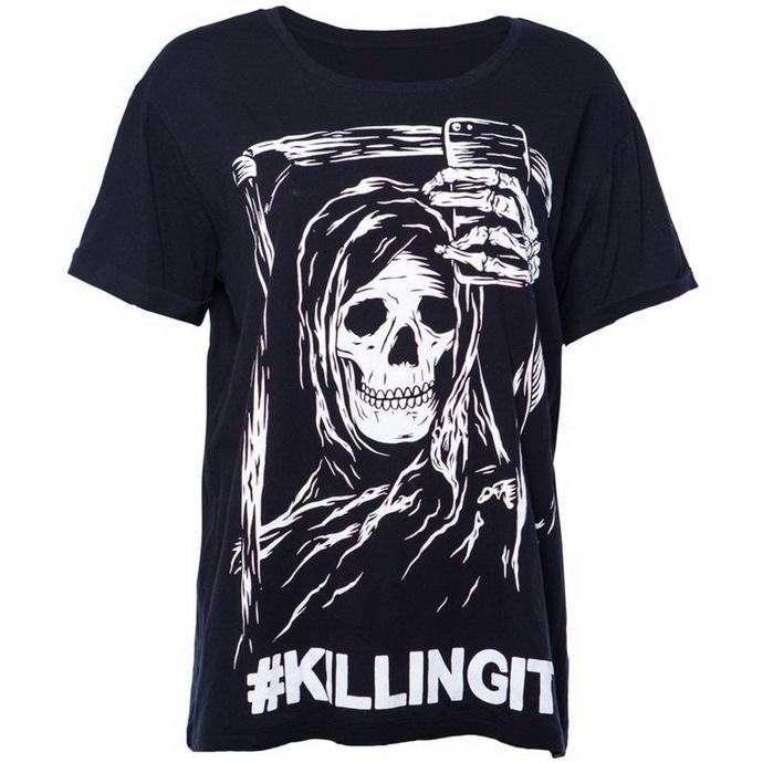 tričko pánské IRON FIST- Killing It Boyfriend - Black