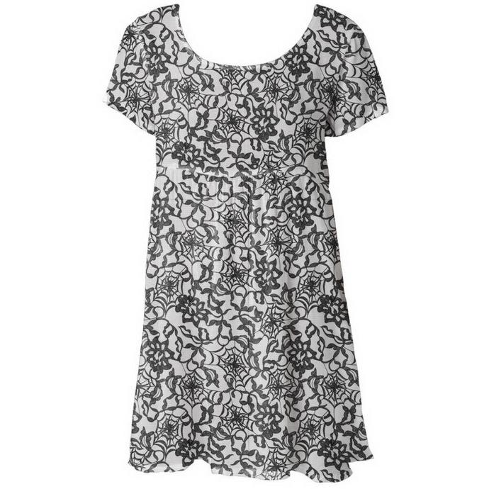 šaty dámské IRON FIST - Black Widow Babydoll - Black
