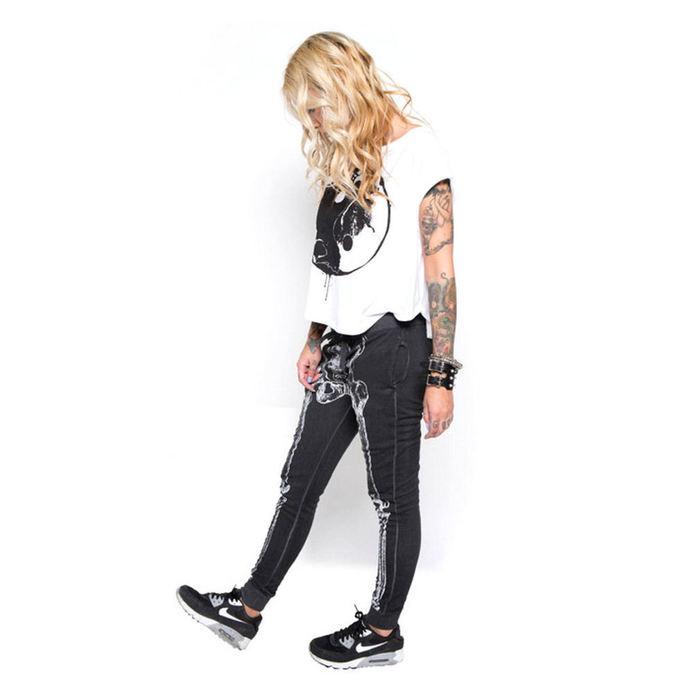 kalhoty dámské (tepláky) IRON FIST - Wishbone - Black