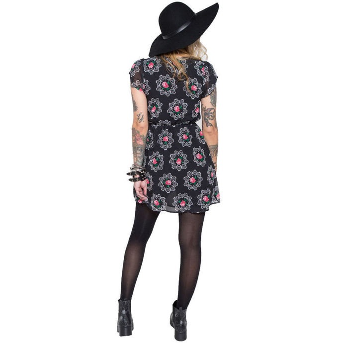 šaty dámské IRON FIST - Ring Around The Rise - Black