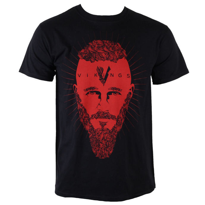 tričko pánské Vikingové - Ragnar Face - PLASTIC HEAD