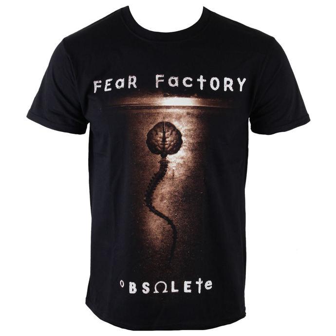 tričko pánské Fear Factory - Obsolete - PLASTIC HEAD