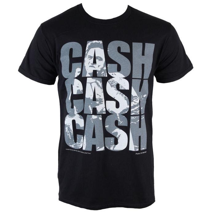 tričko pánské Johnny Cash - Cash Cash Cash - PLASTIC HEAD