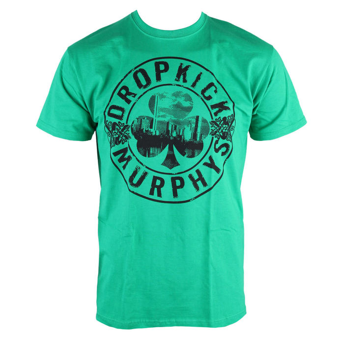 tričko pánské Dropkick Murphys - Boot - Green Kelly - KINGS ROAD