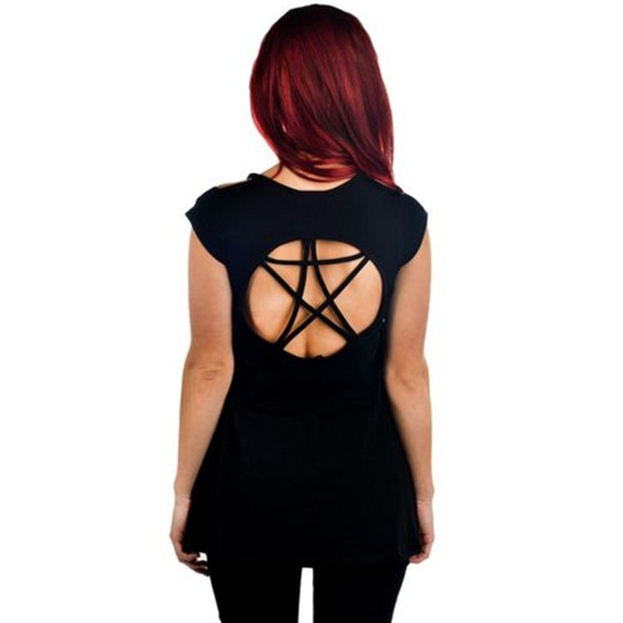 tričko dámské TOO FAST - Pentagram