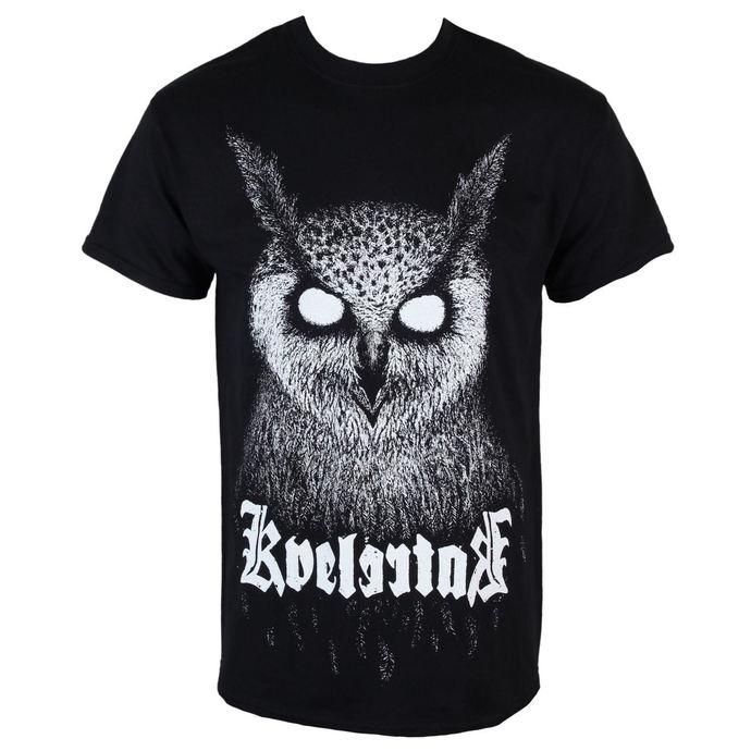 tričko pánské KINGS ROAD - Kvelertak - Barlett Owl - Black - KINGS ROAD
