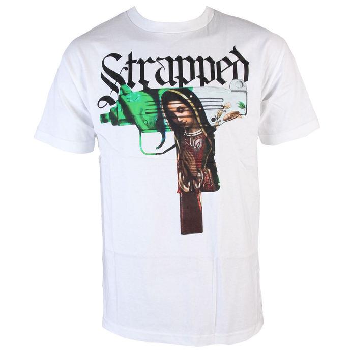 tričko pánské MAFIOSO - Strapped - White