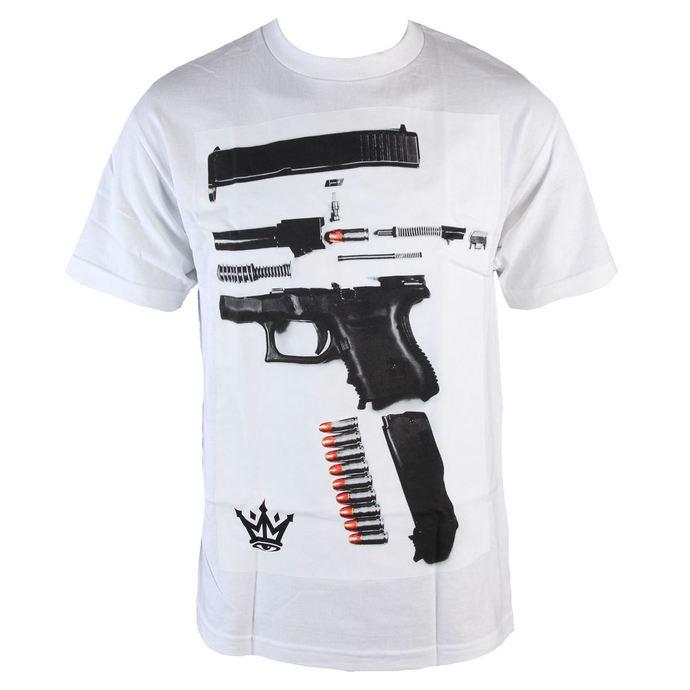 tričko pánské MAFIOSO - Dismantled - White