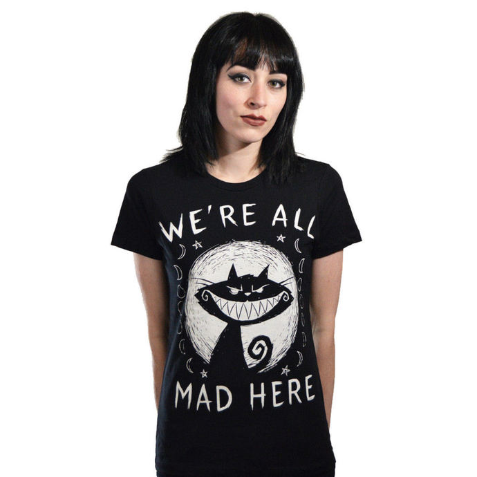 tričko dámské Akumu Ink - We're All Mad Here