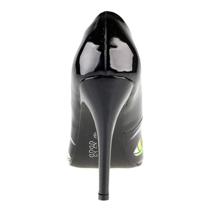 boty dámské (střevíce) IRON FIST - Black Cat Point Hell - Black