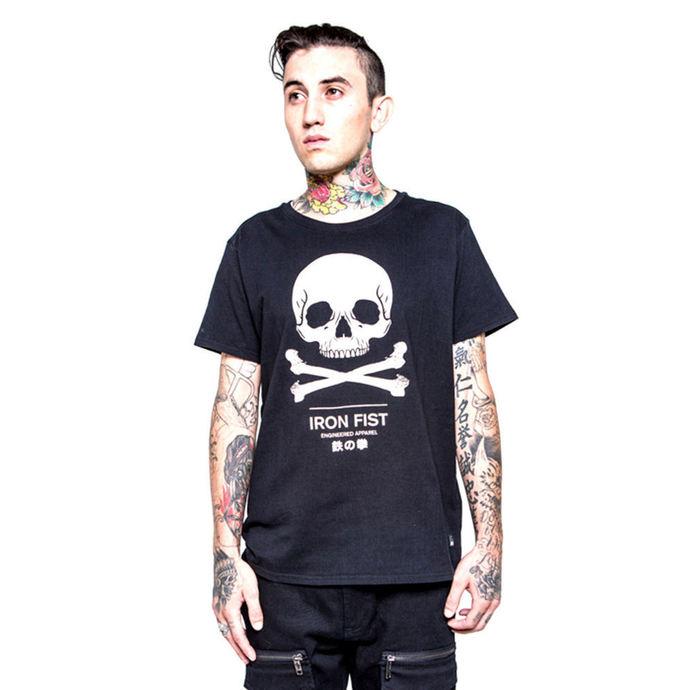 tričko pánské IRON FIST - Engineered Graphic - Black