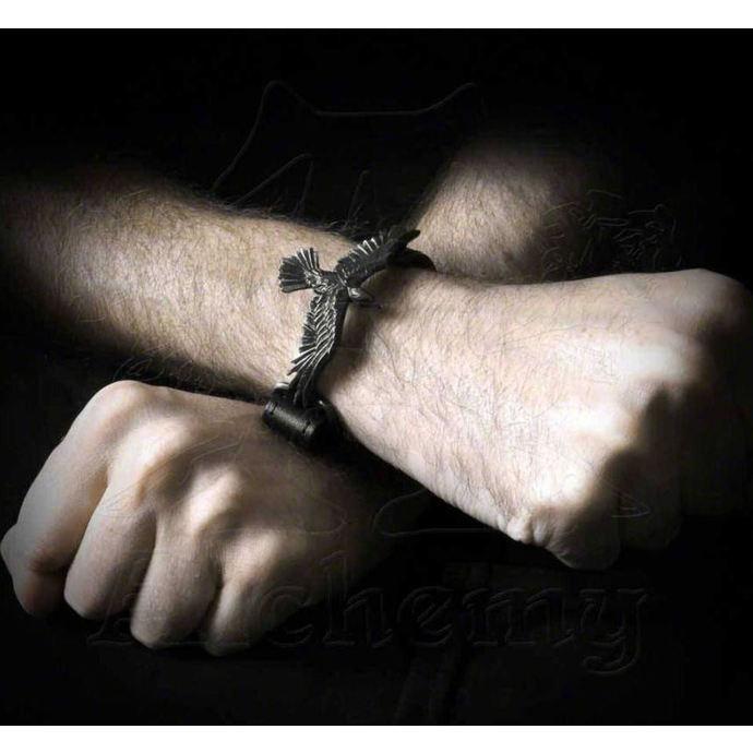 náramek ALCHEMY GOTHIC - Black Consort Wriststrap