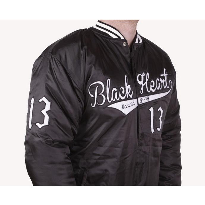bunda pánská zimní (Baseball) BLACK HEART - BHB - Black