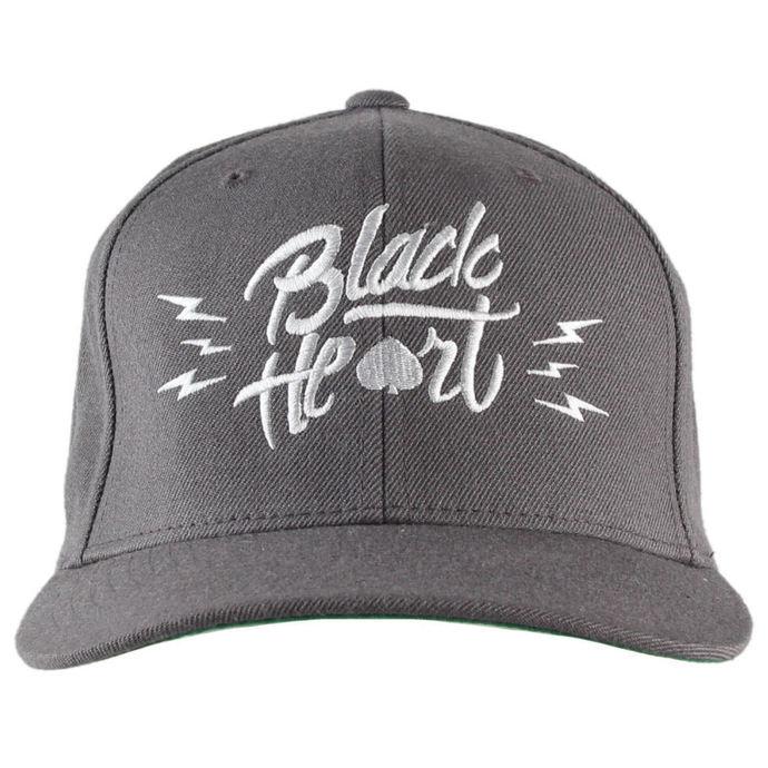 kšiltovka BLACK HEART - Mark - Grey
