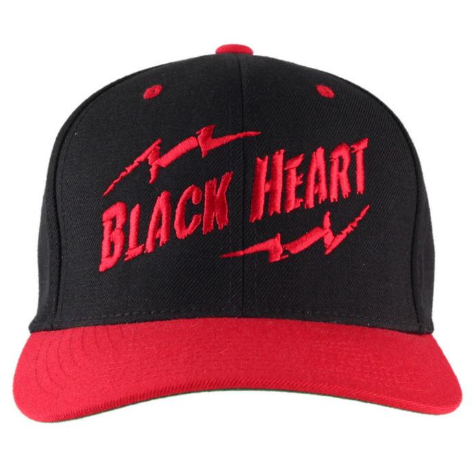 kšiltovka BLACK HEART - Snap Back - Blk/Red