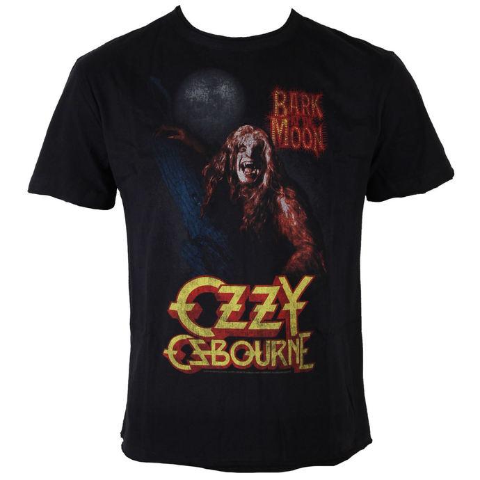 tričko pánské Ozzy Osbourne - Bark At The Moon - BLK - AMPLIFIED