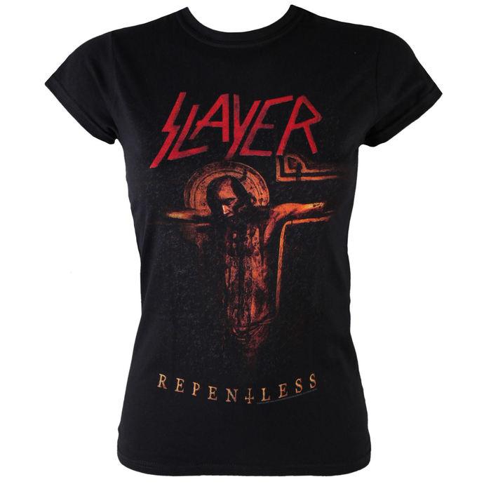 tričko dámské Slayer - Repentless Crucifix - ROCK OFF