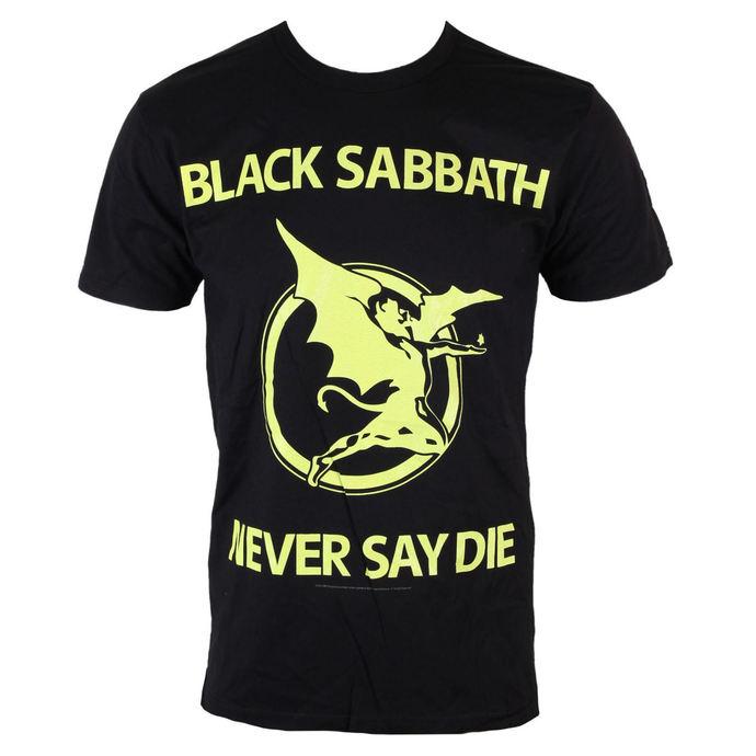 tričko pánské Black Sabbath - Never Day Die - BRAVADO