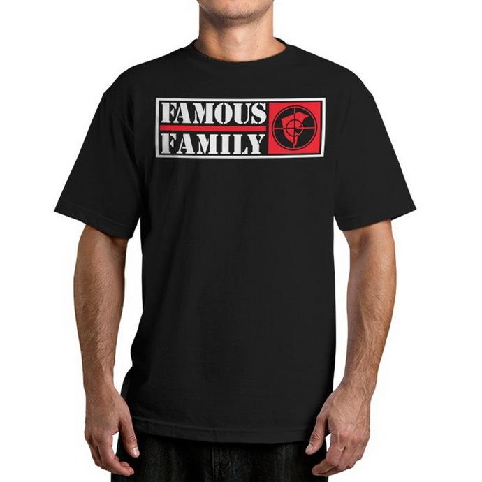 tričko pánské  FAMOUS STARS & STRAPS - Public Family