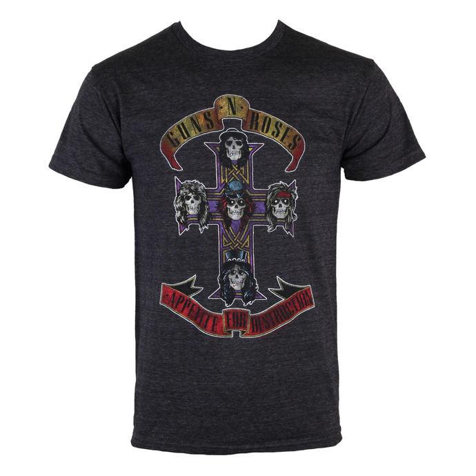 tričko pánské Guns N' Roses - Appetite Destruction - BRAVADO