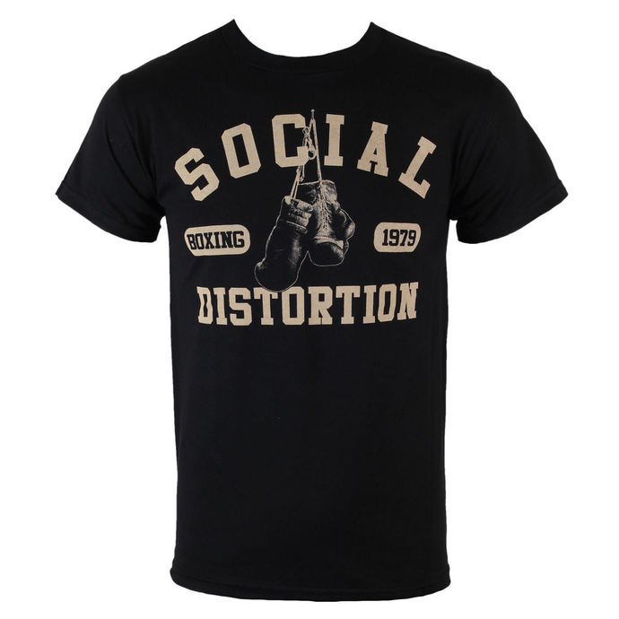 tričko pánské Social Distortion - Boxing Gloves - BRAVADO