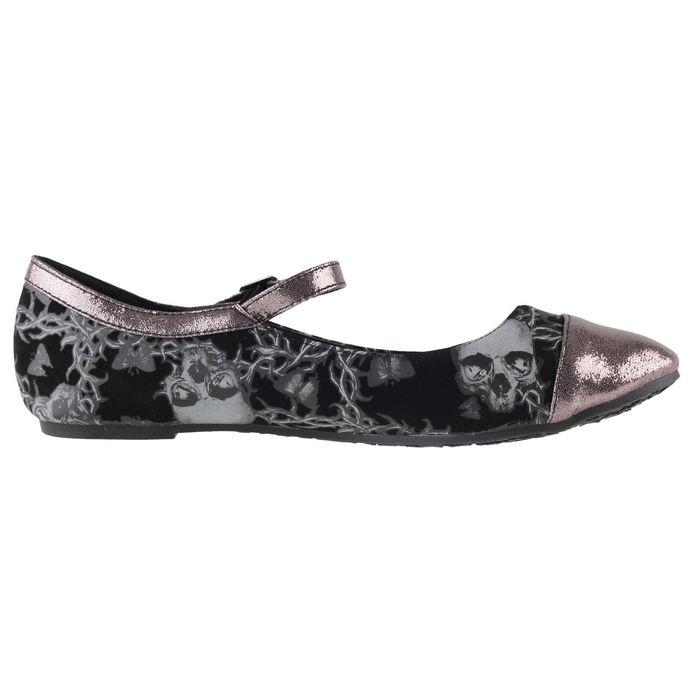 boty dámské (baleríny) IRON FIST - Urban Decay Flat - Black