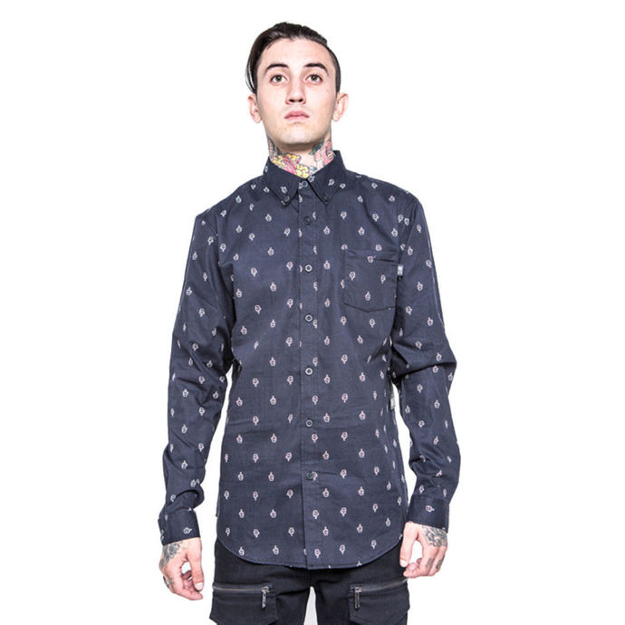 košile pánská IRON FIST - GFY - Black