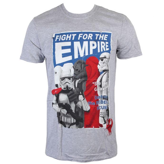 tričko pánské Star Wars - Fight For The Empire - Charcoal - INDIEGO