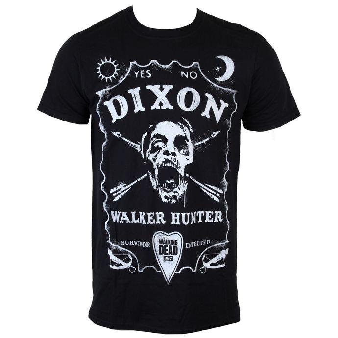 tričko pánské The Walking Dead - Dixon Board - Black - INDIEGO