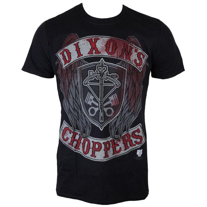 tričko pánské The Walking Dead - Dixons Choppers - Black - INDIEGO