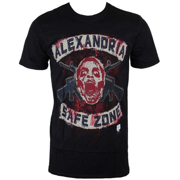 tričko pánské The Walking Dead - Safe Zone - Black - INDIEGO
