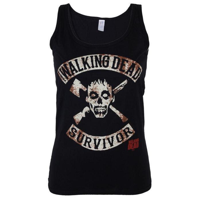 tílko dámské The Walking Dead - Survivor - Black - INDIEGO
