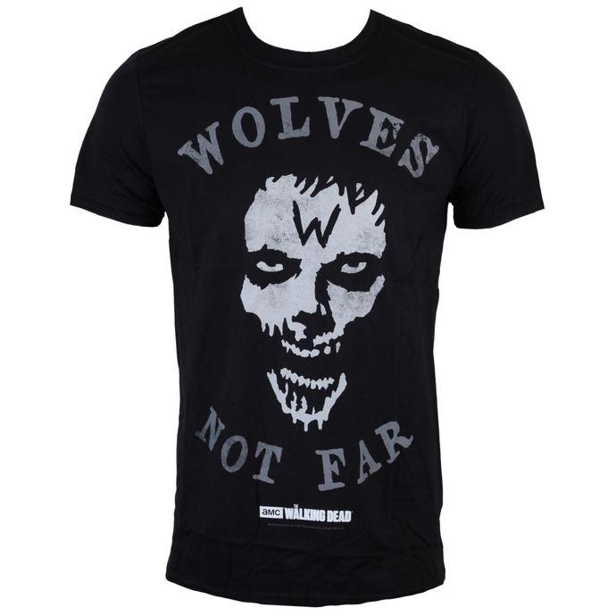 tričko pánské The Walking Dead - Wolves Not Far - Grey - INDIEGO