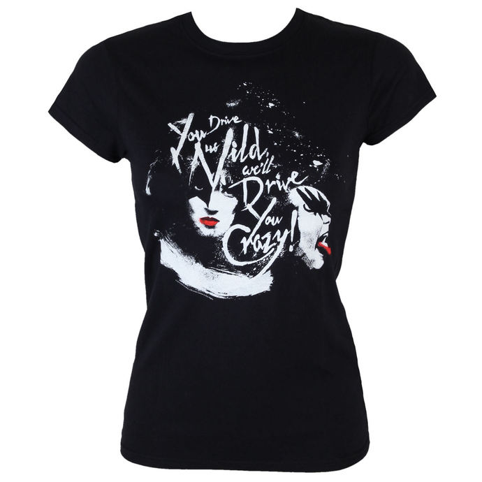 tričko dámské KISS - Kiss loving ass - BLK - LOW FREQUENCY
