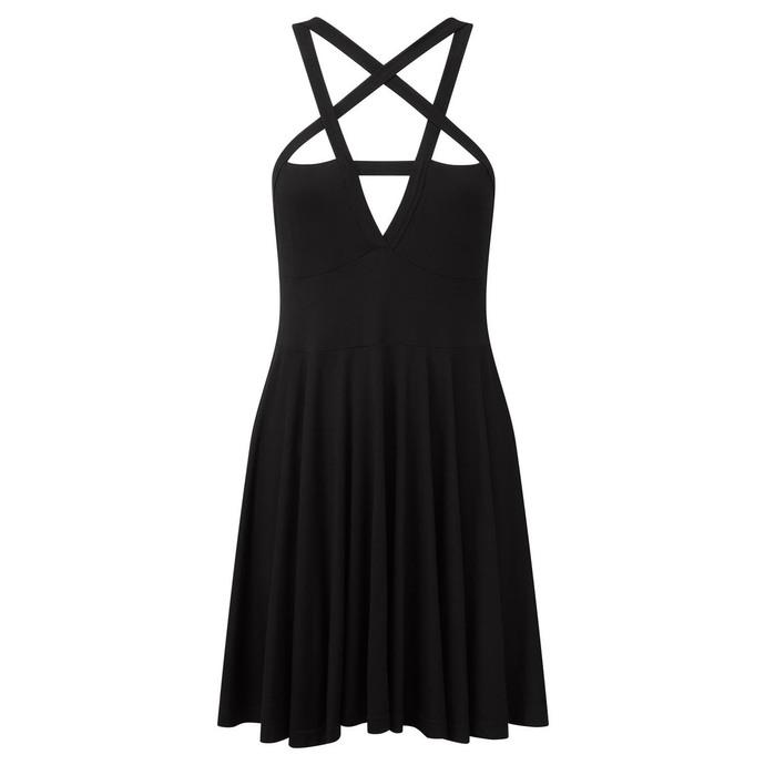 šaty dámské KILLSTAR - Magi Skater - Black
