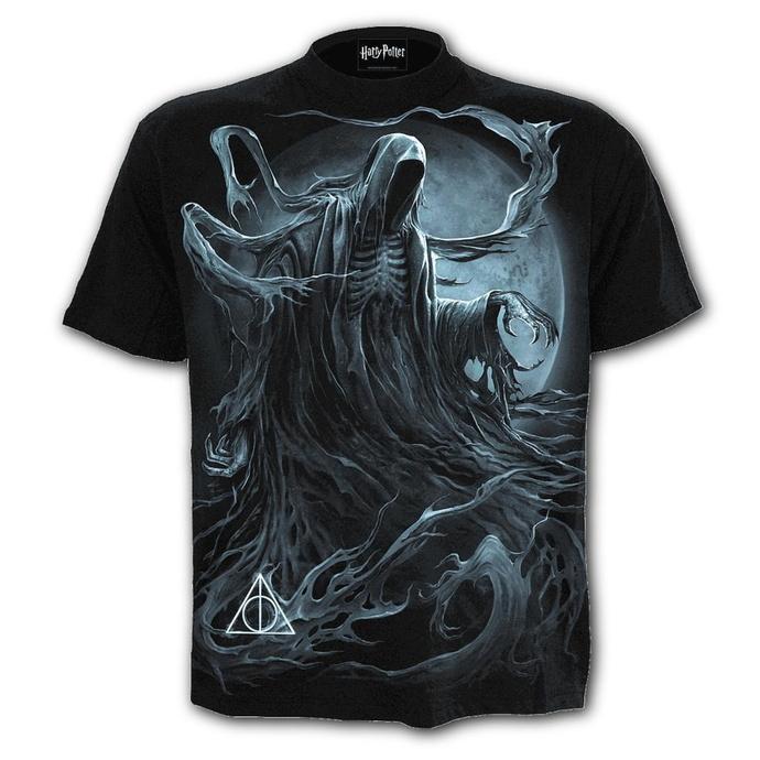 tričko pánské SPIRAL - HARRY POTTER - DEMENTOR - Black