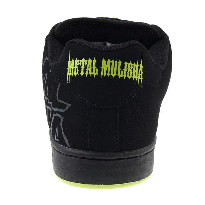 boty pánské ETNIES - Metal Mulisha - Fader - Black/Black