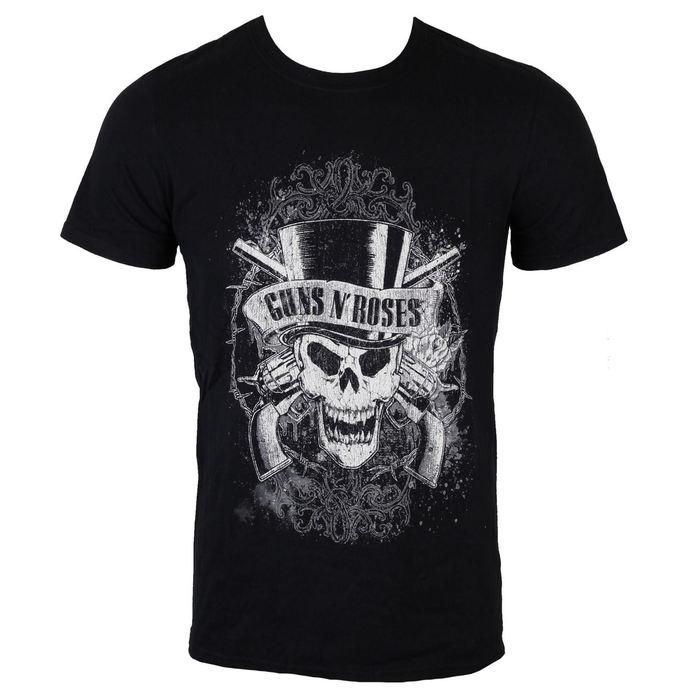 tričko pánské Guns N' Roses - Faded Skull - ROCK OFF