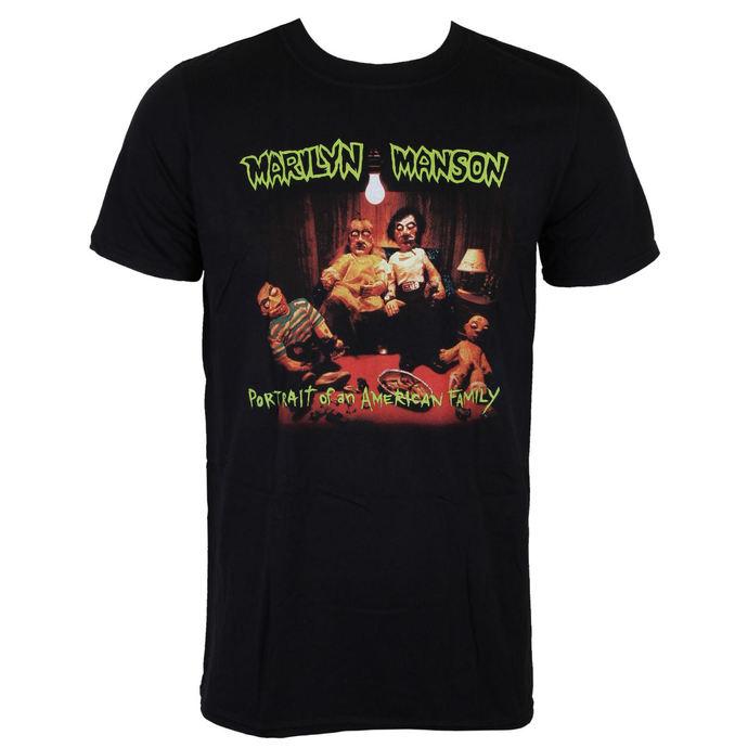 tričko pánské Marilyn Manson - American Family - ROCK OFF