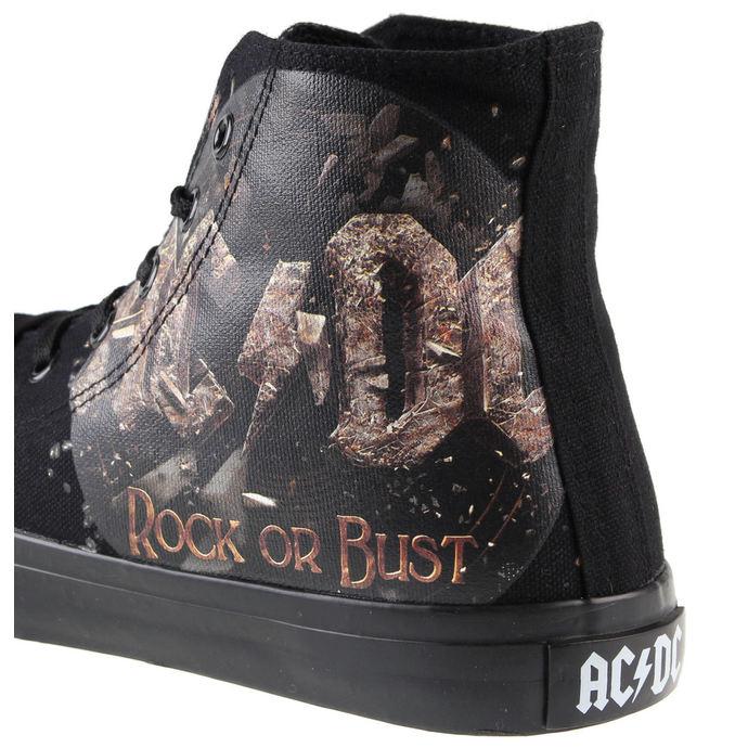 boty AC/DC - Rock Or Bust - Black -  F.B.I.