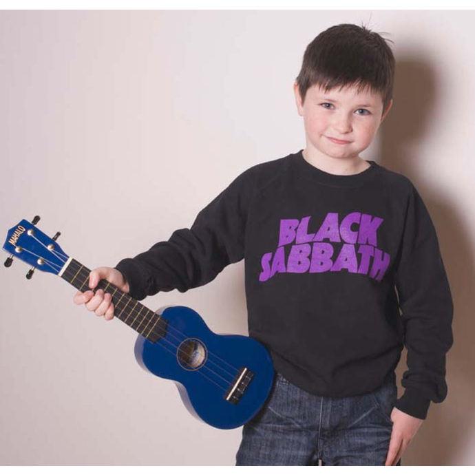 mikina dětská Black Sabbath - Wavy Logo - ROCK OFF