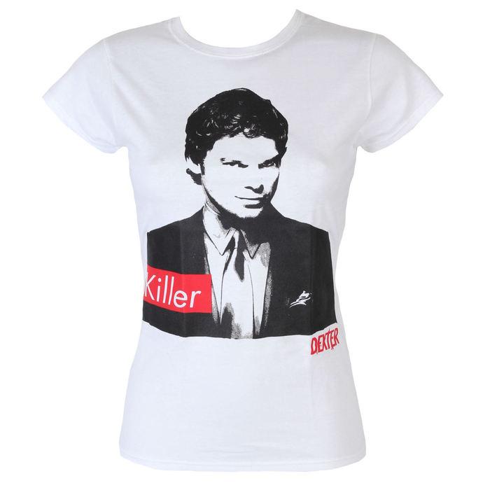 tričko dámské Dexter - Killer - White - HYBRIS