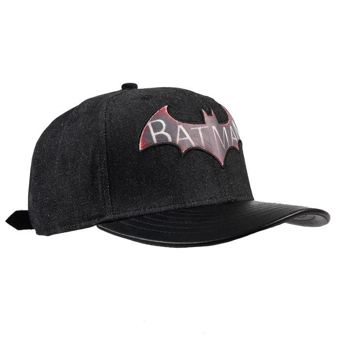 kšiltovka Batman - Logo Arkham Knight - Black - LEGEND