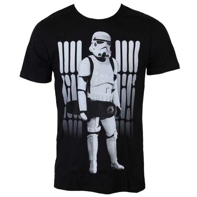 tričko pánské Star Wars - Skate Trooper - Black - LEGEND