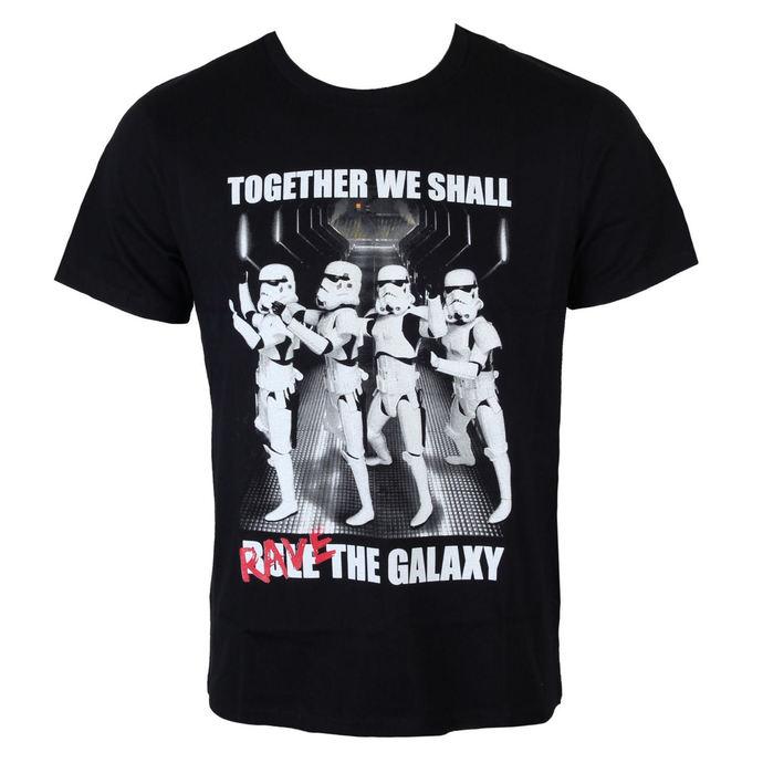 tričko pánské Star Wars - Trooper Party - Black - LEGEND