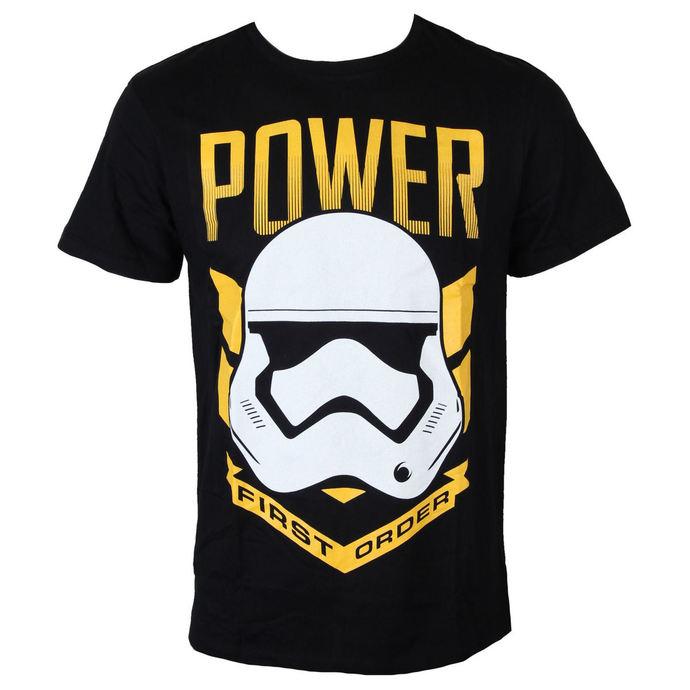 tričko pánské Star Wars - Trooper Power - Black - LEGEND