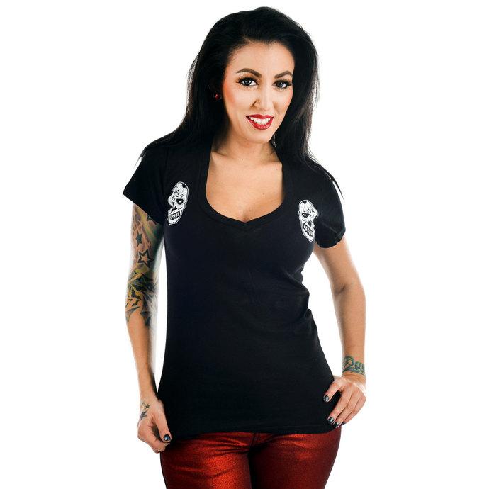 tričko dámské TOO FAST - Sweet Vee - Sugar Skull