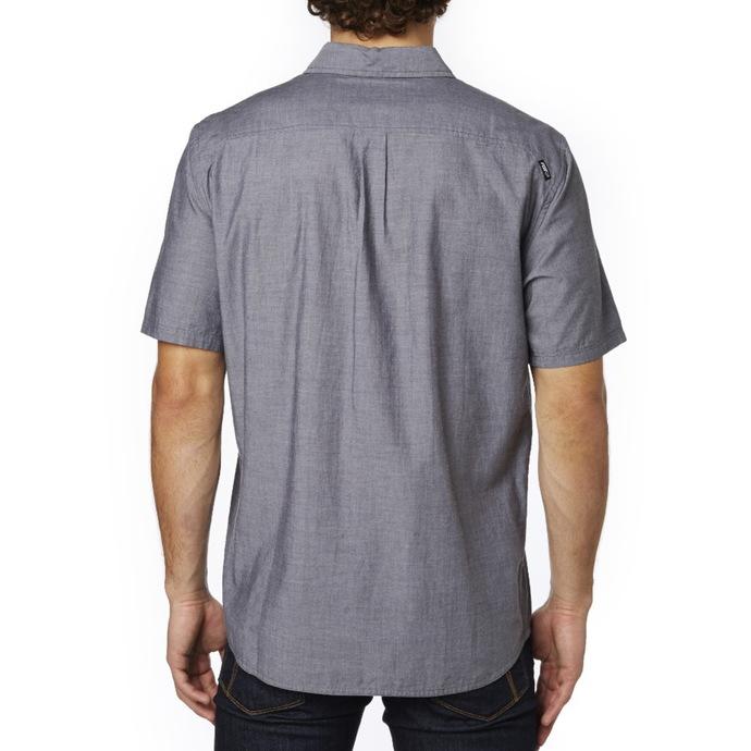 košile pánská FOX - Trish - Black Vintage