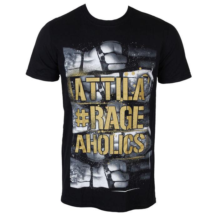 tričko pánské Attila - Rageaholics - PLASTIC HEAD